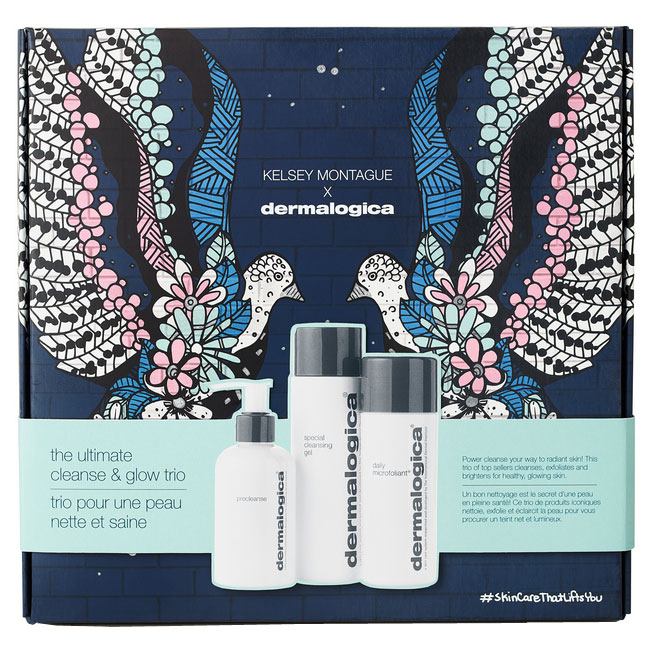 dermalogica : The Ultimate Cleanse And Glow Trio