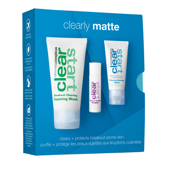 dermalogica : Clearly Matte Skin Kit