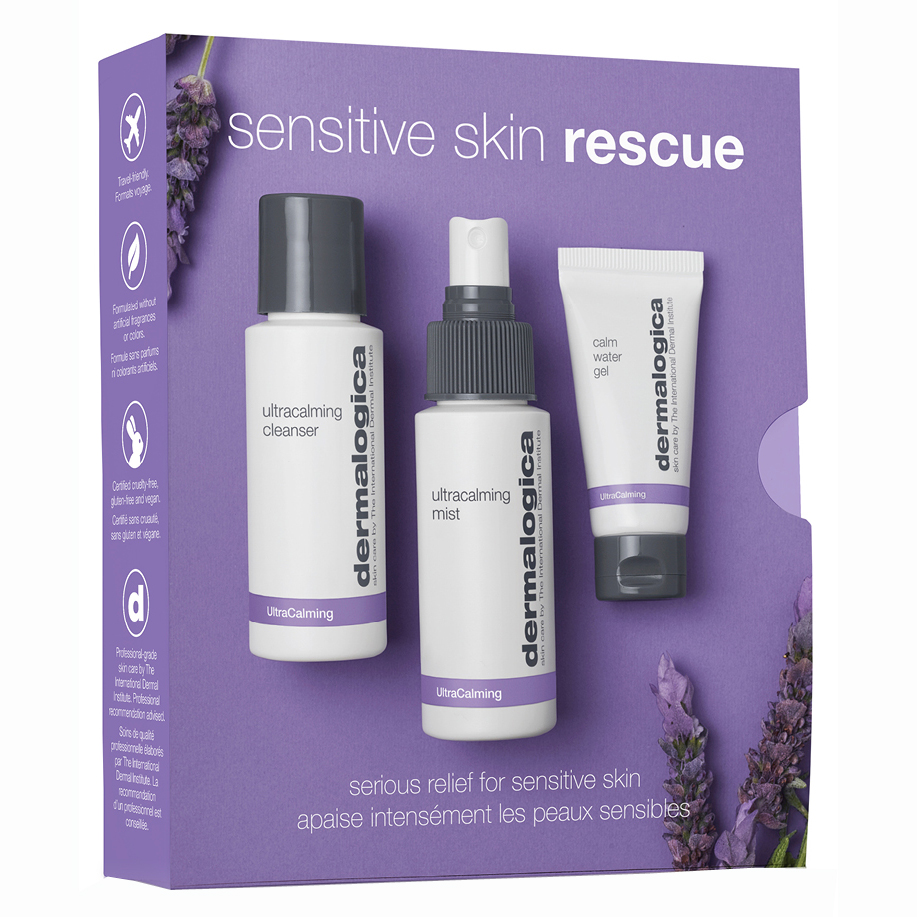 dermalogica : Sensitive Skin Rescue Kit