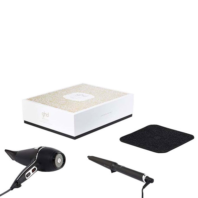 ghd ghd arctic gold dry wave wand deluxe set buy cheaper than salon price free delivery. Black Bedroom Furniture Sets. Home Design Ideas