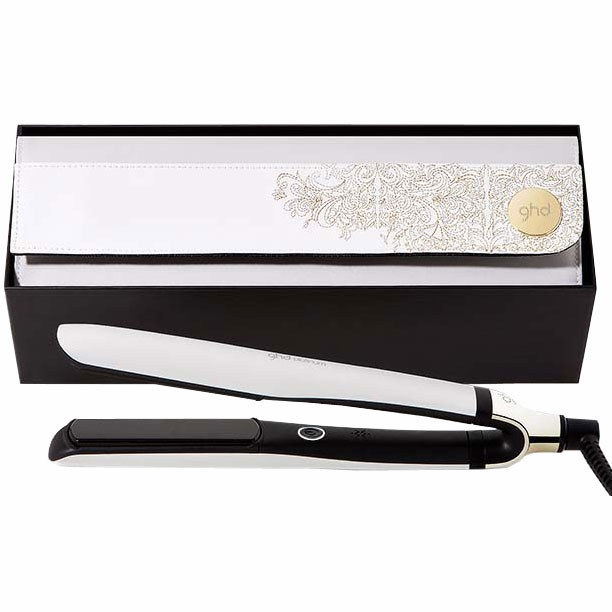 ghd ghd white platinum styling gift set buy cheaper than salon price free delivery available. Black Bedroom Furniture Sets. Home Design Ideas