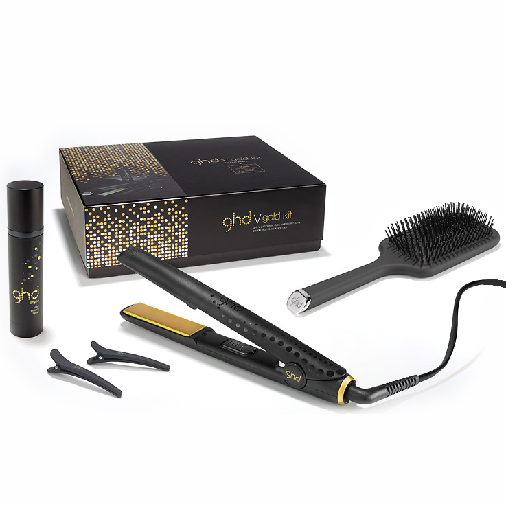 ghd ghd v gold classic kit buy cheaper than salon price free delivery available. Black Bedroom Furniture Sets. Home Design Ideas