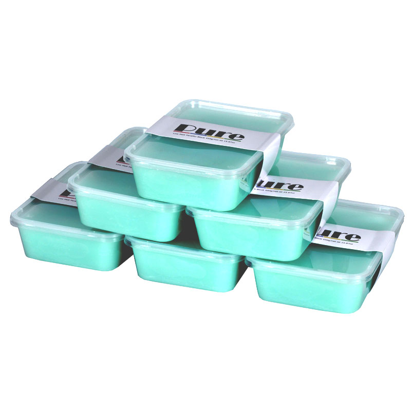 pure salon equipment  : Tea Tree Paraffin Wax 6 Pack